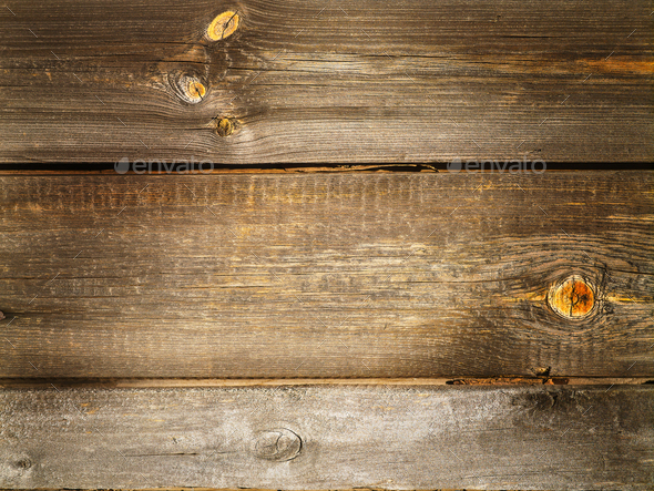 Natural  old clapboard wood background - Stock Photo - Images