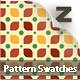 18 Retro Leaf Pattern Swatches - GraphicRiver Item for Sale