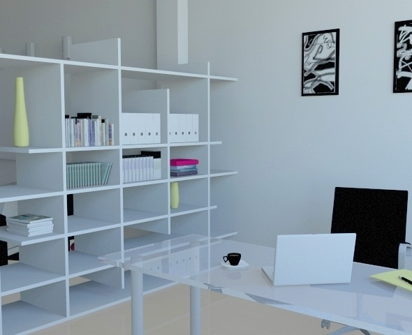 modern office - 3DOcean Item for Sale