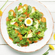 salad with chrysanthemum leaves and avocado - PhotoDune Item for Sale