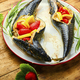 Baked mackerel with strawberries - PhotoDune Item for Sale