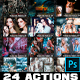 24 Artistic Collection Photoshop Actions