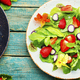 Summer salad with berries and herbs - PhotoDune Item for Sale
