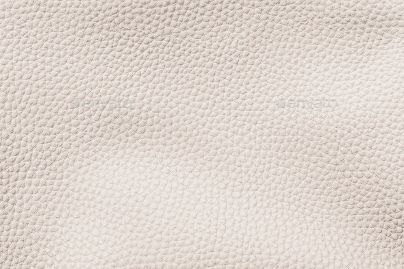 Beige cow leather textured background - Stock Photo - Images