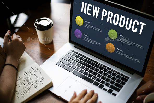 Online marketing - Stock Photo - Images