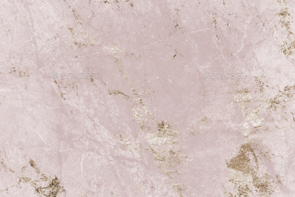 Pink and gold marble textured background - Stock Photo - Images