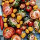 Various fresh tomatoes aerial view - PhotoDune Item for Sale