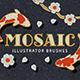 Mosaic Tile Illustrator Brushes