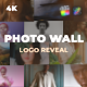 Photo Wall Logo Reveal - VideoHive Item for Sale