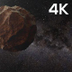 4k Flying Asteroid - VideoHive Item for Sale