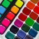 Bright colorful watercolor paints - PhotoDune Item for Sale