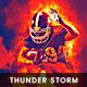 Thunder Storm Lighting Effect