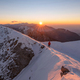 Beautiful sunrise in the winter mountains - PhotoDune Item for Sale