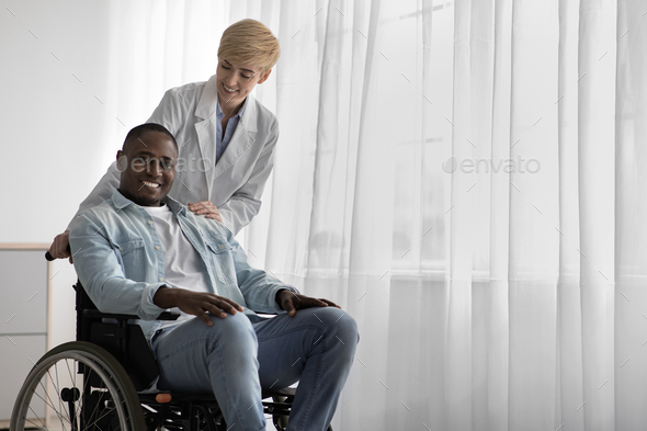 Excellent result of therapy, treatment and rehabilitation in clinic or home - Stock Photo - Images