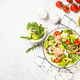 Seafood salad with leaves and vegetables - PhotoDune Item for Sale