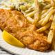 Homemade Fried Fish Dinner - PhotoDune Item for Sale