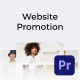 Clean Minimal Website Promo for Premiere Pro - VideoHive Item for Sale