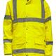 Isolated Yellow Hi-Vis Jacket - PhotoDune Item for Sale