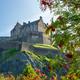 Edinburgh Castle From Princes St Gardens - PhotoDune Item for Sale