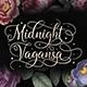 Midnight Vagansa | Beauty Caligraphy