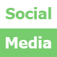 CSS3 Social Media Button Hover Effects