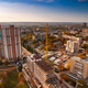 Aerial view of a large developing European city - PhotoDune Item for Sale
