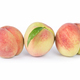 peaches isolated on white - PhotoDune Item for Sale
