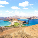 "Panoramic view of "" Isla Bartolome "" at Galapagos Islands archipelago - PhotoDune Item for Sale"