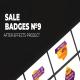 Sale Badges Vol.9 - VideoHive Item for Sale