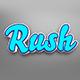 Rush - 3D Text Effect PSD