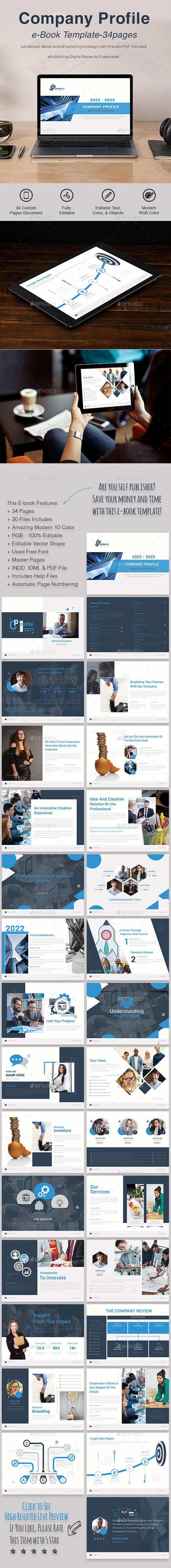 Company Profile   e-Book Template