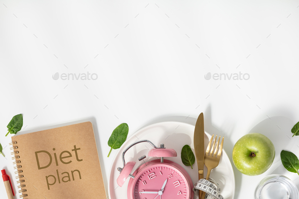 Diet concept, copy space - Stock Photo - Images