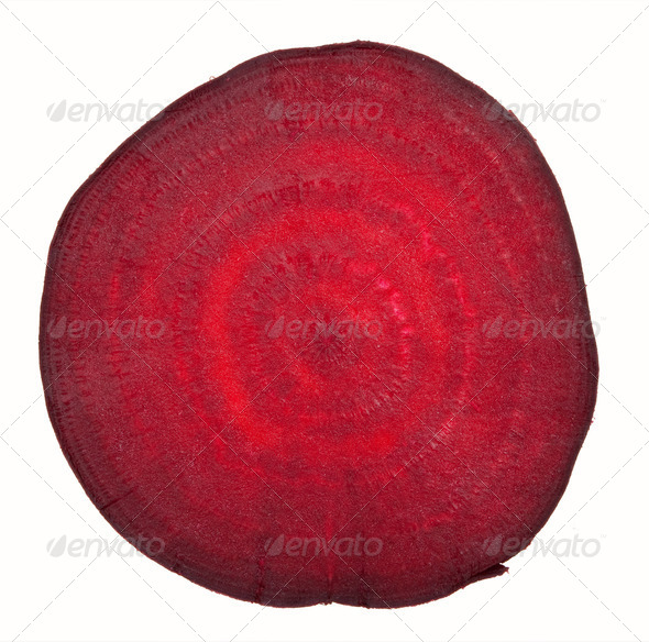 Beetroot sliced - Stock Photo - Images