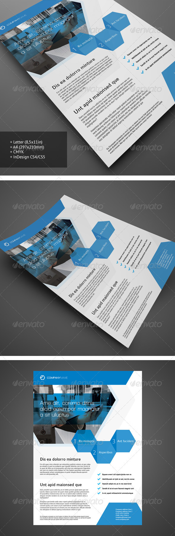 Corporate Flyer 4 - Corporate Flyers