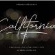 Callifornia | Handwritten Signature Font