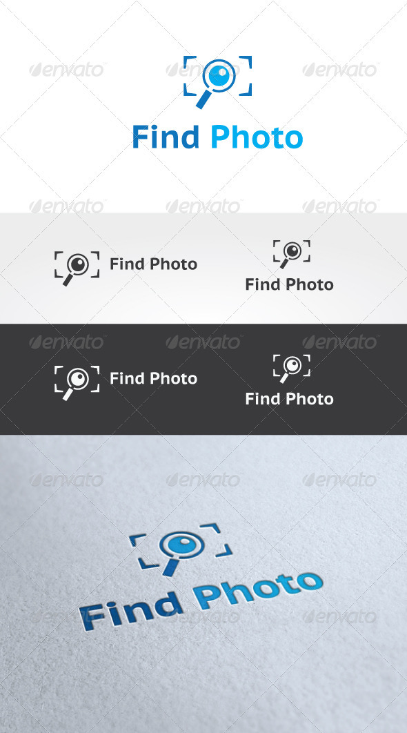 Find Photo Logo Template - Objects Logo Templates