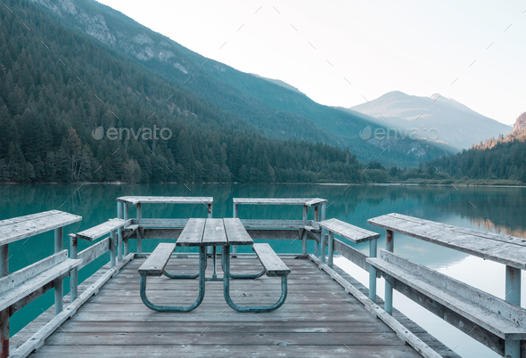 Picnic site - Stock Photo - Images