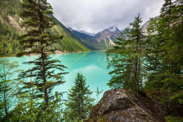 Lake in Canada - Stock Photo - Images