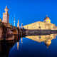 The reconstructed Berlin City Palace at dusk - PhotoDune Item for Sale