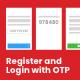 Mobile Login and Registration