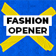 Fashion direction opener - VideoHive Item for Sale