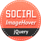 Social Image Hover for jQuery - CodeCanyon Item for Sale