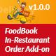 FoodBook In-Restaurant Orders Add-on
