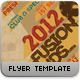 Afro Fusion Flyer Template