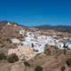 Cyclades, Greece. Ios island, aerial drone view of Chora town - PhotoDune Item for Sale
