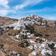Cyclades, Greece. Serifos island, aerial drone view of Chora town - PhotoDune Item for Sale
