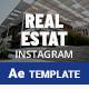 Real Estate Instargram Posts & Stories - VideoHive Item for Sale