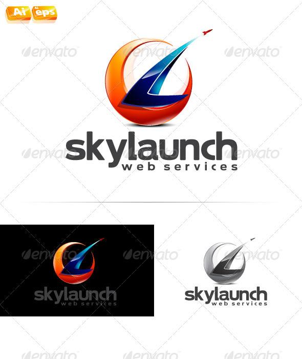 skylaunch Logo - Symbols Logo Templates