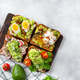 Assortment of vegan sandwiches with avocado and tomatoes - PhotoDune Item for Sale