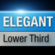 Elegant Lower Third - VideoHive Item for Sale